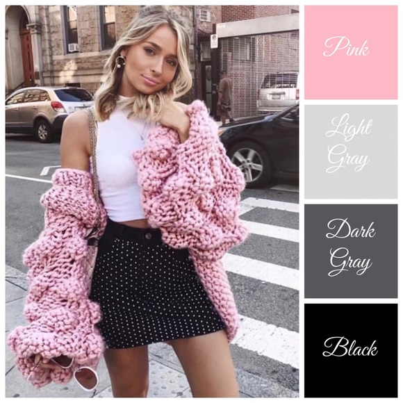 b703ad339d88 Sweaters | Hand Knit Chunky Cardigan Sweater | Poshmark